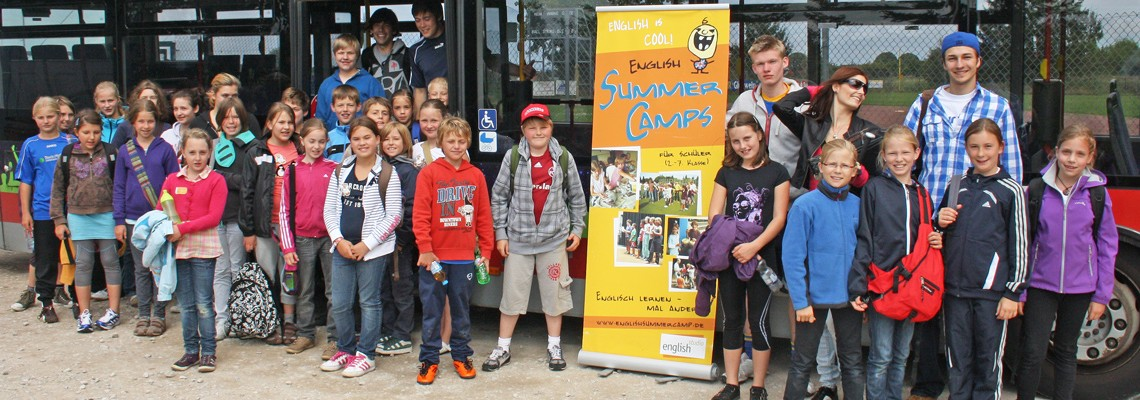 English Summer Camp Nürnberg Nord:  ab 1. August bis 9. September 2016